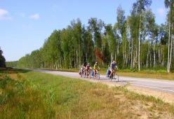 В 2010 году велотуристы ДнепроВелоКлуба удлиннили Золотое ко...
